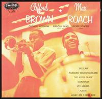 Studio album by Clifford Brown & Max Roach Quintet, published by EmArcy Record label in 1954.