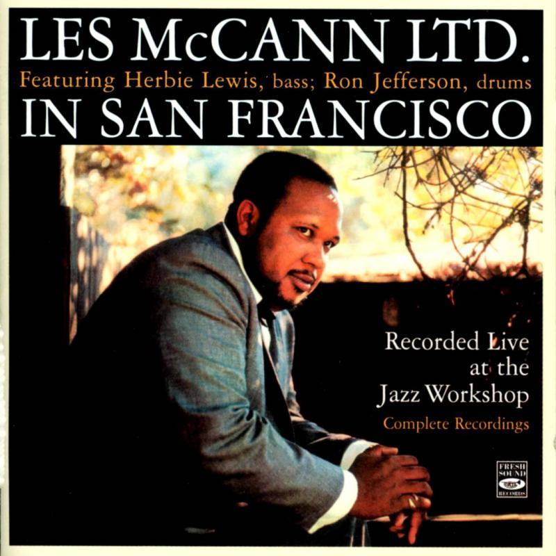 Les McCann LTD In San Francisco, album cover art.