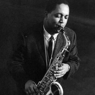 Oliver Nelson playing the tenor saxophione.