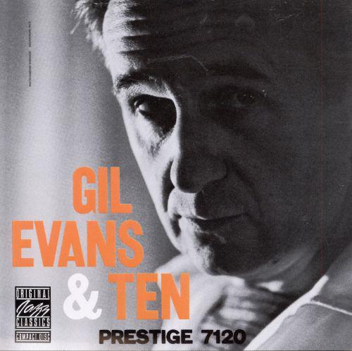 Gil Evans & Ten, Prestige 7120 album cover.