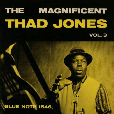 The Magnificent Thad Jones Volume 3 album cover.