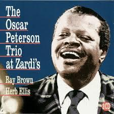 The Oscar Peterson Trio at Zardi's album cover.