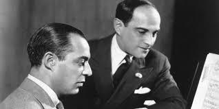 Composer Richard Rodgers and lyricist Lorenz Hart.