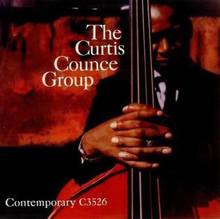 The Curtis Counce Group album cover photo, circa 1956.