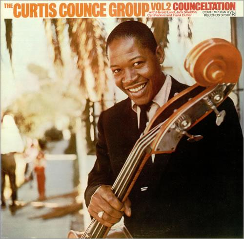 The Curtis Counce Group Volume Two - Conceltation, album cover.