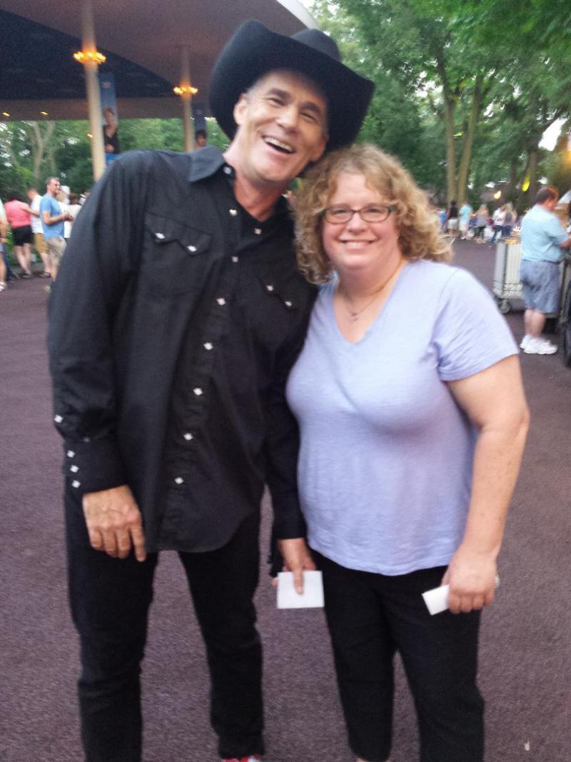 Dramarama Lead Singer John Easdale with Lakeshore Public Radio's Sharon Jackson