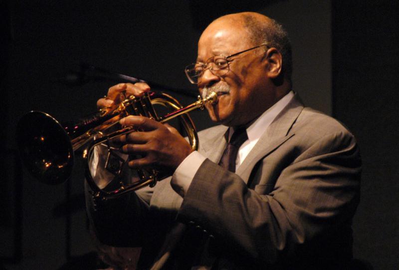 Clark Terry, jazz trumpeter.