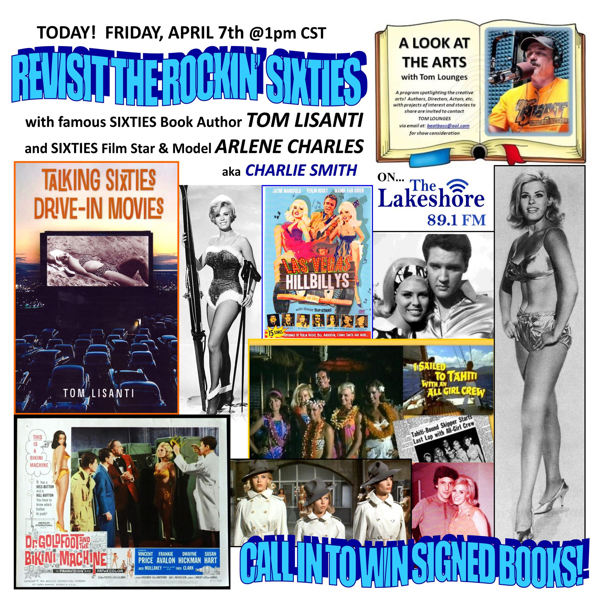 Also on this program is Sixties Film & TV actress ARLENE CHARLES (aka  Charlie Smith), who appeared in films with Elvis, Frankie Avalon, Vincent  Price and ...