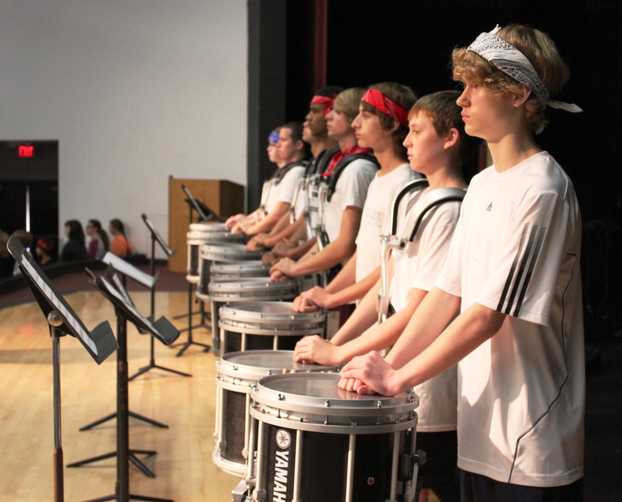 Students at Tarpon Springs High School