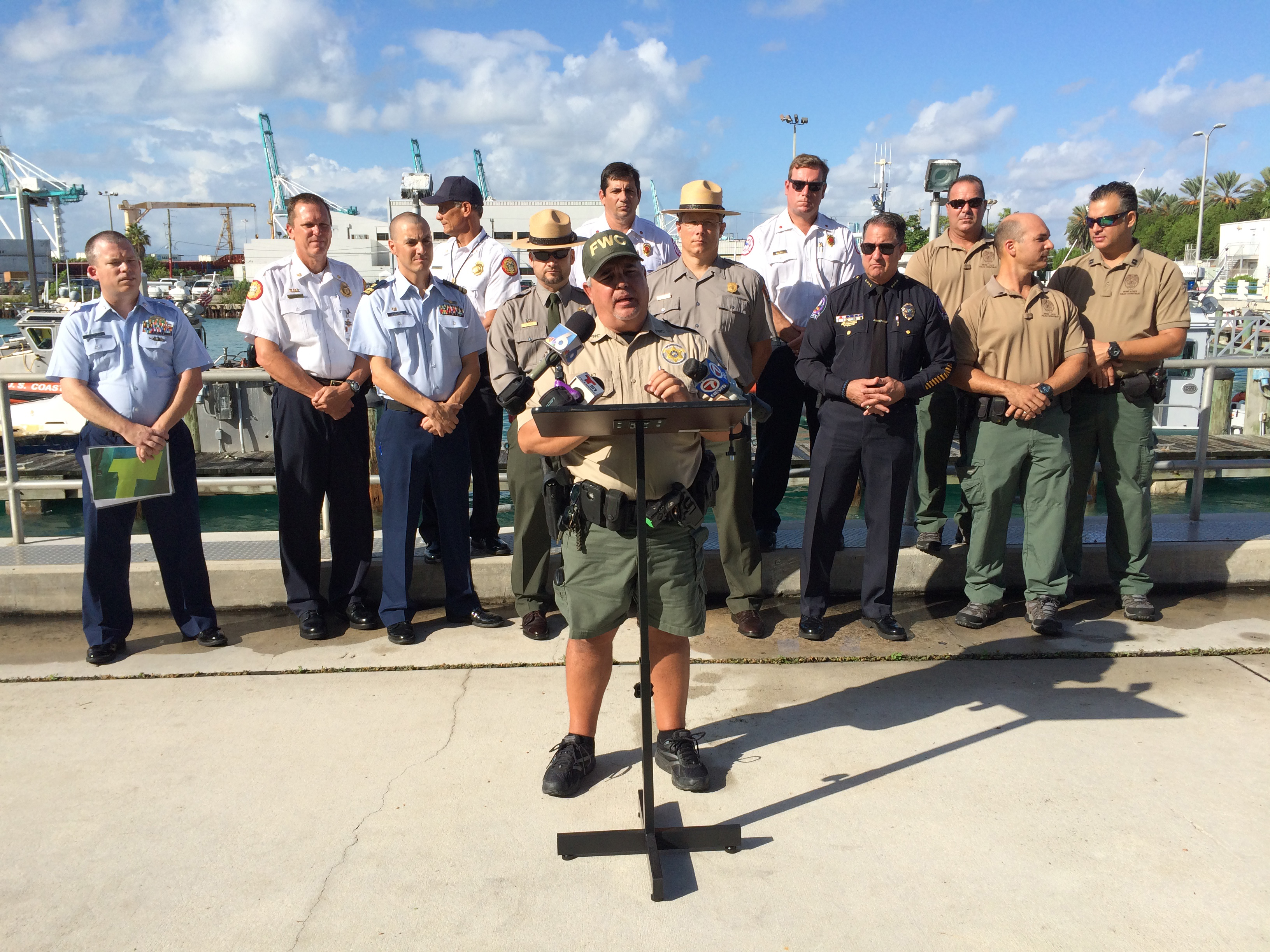 U s coast guard adds new slow speed zone ahead of for Florida fish and wildlife officer