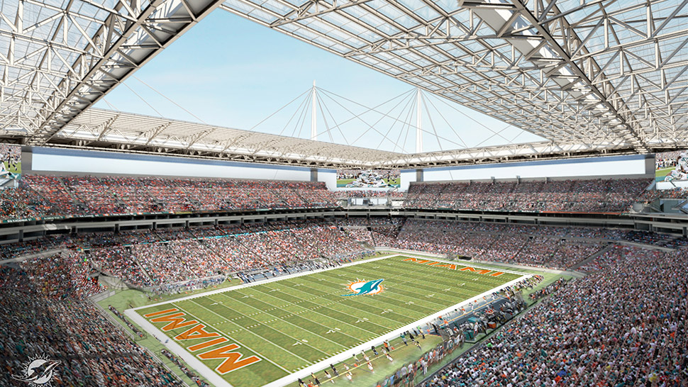 Sun Life Renovations : Sun life stadium is getting a reset wlrn
