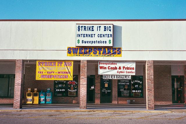 illegal gambling machines in florida