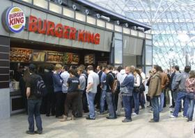 This Won't Be Necessary: Burger King will soon offer home delivery in South Florida as it already does in Turkey.