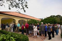 Some voters waited up to four hours to cast a ballot.