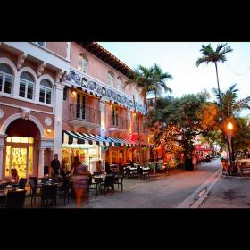 Espanola Way in Miami Beach. This photo by Barry Miller won third place in the South Florida Best Block Contest.