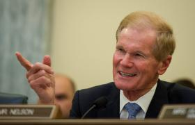 Bill Nelson won his third term.