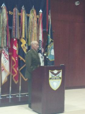 U.S. Marine Corps Lt. Gen. John Kelly grew up in Boston, MA.
