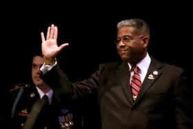 Allen West has long been a tea party favorite.