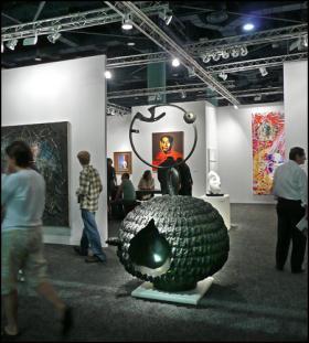 Art Basel, Miami Beach, 2007.