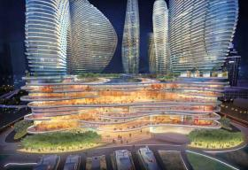 Too Much? Some think this over-the-top rendering of a casino idea for the Herald site may have worked against the 2012 gambling bill.