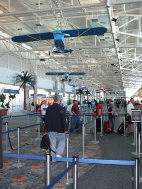 More than a million passengers are expected at the Fort Lauderdale Airport during the holidays.