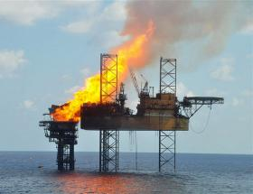 Another oil rig in the Gulf has problems. Four people are sent to the hospital and 2 are presumed missing.