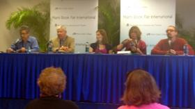 The Florida Book Awards panel included four of the 2011 winners.
