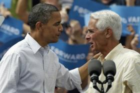 Crist's open support of  President Obama has infuriated state Republicans.