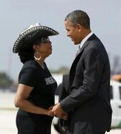 Word In His Ear: U. S. Rep. Frederica Wilson says GOP operatives are manipulating early voters to steal the election.