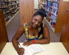 Shakira Lockett says in high school she typically earned As and Bs in her English classes. But at Miami Dade College, she had to take remedial courses in math, reading and writing.