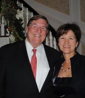 POWER COUPLE: Bill McBride and his wife, Alex Sink, were both Democratic candidates for governor. McBride died suddenly Saturday.