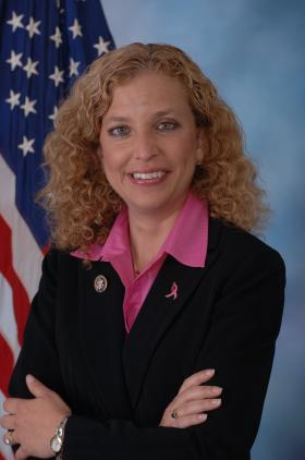 Rep. Debbie Wasserman-Schultz (D-Weston) also serves as Democratic National Committee chairwoman.