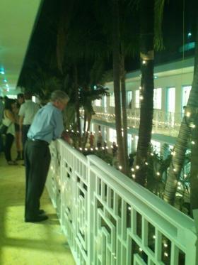 This is the eighth year Aqua Hotel has hosted an art fair during Art Basel Miami Beach.
