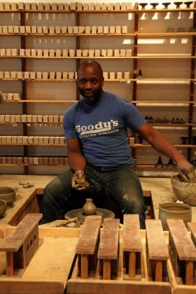 Theaster Gates is a Chicago installation artist.