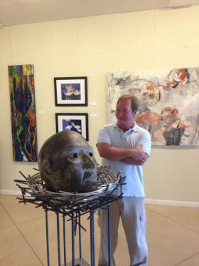 Pompano Beach gallery owner Tom Rossetti.