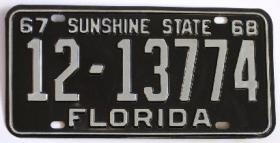 REMEMBER THIS? An old tag from Lake County, which was the 12th most populous county in 1938 when the county codes were devised. Dade was 1, Broward was 10, Palm Beach was 6.