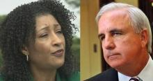APPEALING TO TALLAHASSEE: Miami-Dade Elections Supervisor Penelope Townsley and Mayor Carlos Gimenez