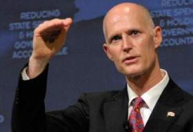 POLL NUMBERS: Republican voters still support Gov. Scott and hope for his re-election but his overall ratings are low.