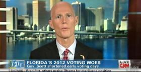 Gov. Rick Scott talks Florida voting on CNN.
