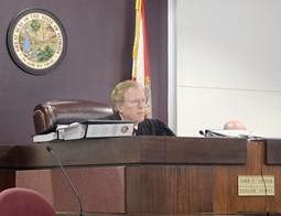 TOUGH CASE: Judge John Cooper tells teachers he doesn't know how he'll rule in their suit against performance pay.