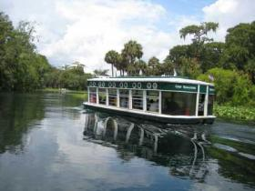 MAIN ATTRACTION: For more than a century, tourists came to Silver Springs to cruise the eerily clear Silver River in boats with glass bottoms.