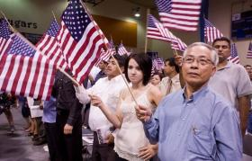 END OF THE PATH: Illegal residents could look forward to citizenship under the comprehensive immigration  bill President Obama favors.