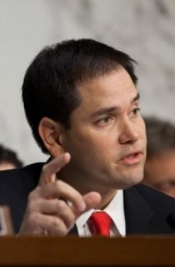 VOTING NO: Rubio said the fiscal cliff bill would would threaten job creation and the broad economy.