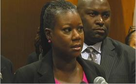 Sybrina Fulton, mother of Trayvon Martin, is calling for the repeal of Stand Your Ground.