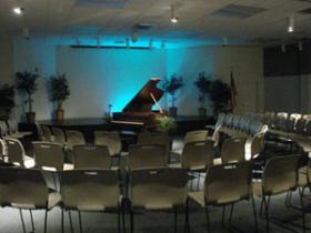 The auditorium at ArtServe in Fort Lauderdale is about due for an AV upgrade and they're turning to online donations to help get there.