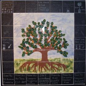 Eco-Art Therapy merges lessons in art and the environment in one therapeutic package.