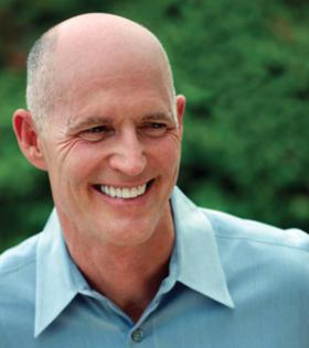 Gov. Rick Scott will face Charlie Crist in November for the governor's seat.