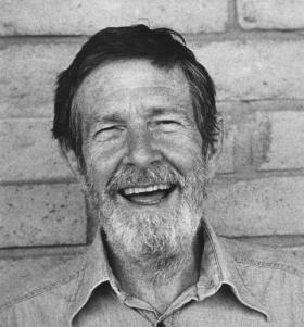 John Cage in 1982