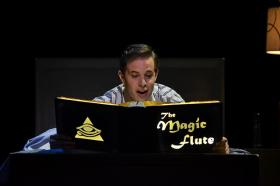 Andrew Bidlack as Tamino in the Florida Grand Opera's production of 'The Magic Flute'