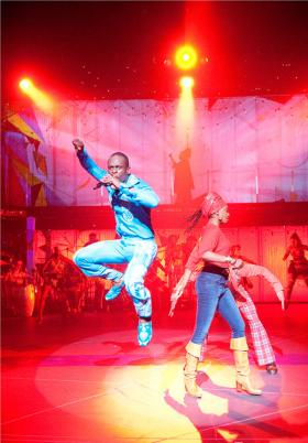 Fela! the musical is based on the life and songs of Nigerian protest singer Fela Kuti.